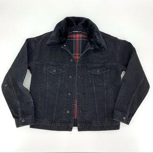 The Kooples Jean Denim Jacket small
